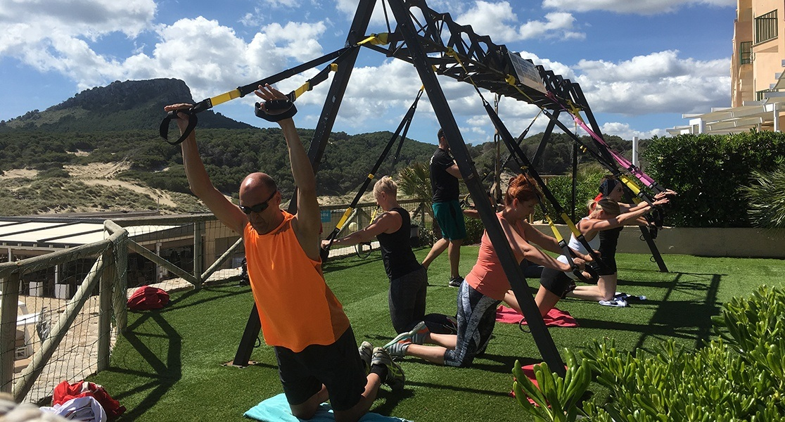 Your body, your time TRX Mallorca